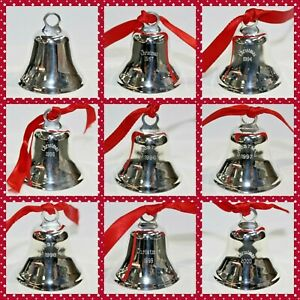 Vintage Leonore Doskow Sterling Silver Christmas Bell