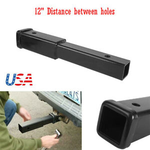 12 Inch Trailer Hitch Extension Adapter For 2 Inch Receiver 4000 Lbs Oem Repla