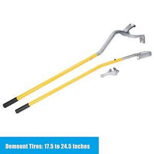 3pcs Tire Changer Tire Mount Demount Tool Tubeless Truck 17 5 To 24