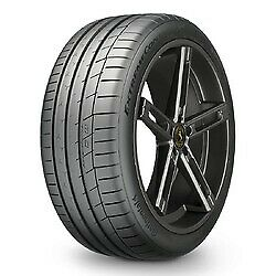 1 New 245 35zr19xl Continental Extremecontact Sport Tire 2453519