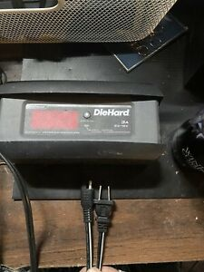 Diehard 6 Volt And 12 Volt Battery Charger Maintainer Unit Only No Leads