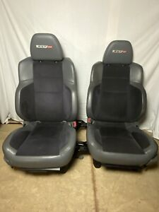 2006 Ram Srt 10 Oem Seats Interior Pair Leather And Suede Heated Very Rare