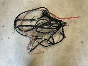 Boss Snow Plow Wire Harness Plow Side Pump Only