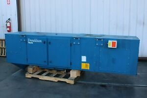 Donaldson Torit Wall Mount Dust Collector Hp 3 3450 Rpm Hz 60 230v