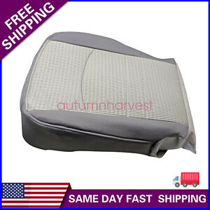 Fits Dodge Ram 1500 2500 3500 Slt 2009 2012 Driver Bottom Cloth Seat Cover Gray