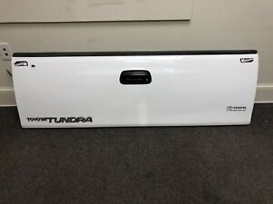 2002 Toyota Tundra Access Cab Tailgate Tail Gate White Used
