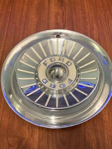 1957 Vintage Ford Fairlane Galaxie Hubcap Wheel Cover Center Hub Cap 14
