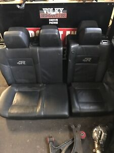 Vw Mk4 R32 Rear Seats Leather Konig Oem Gti Gli 337 20th Bucket