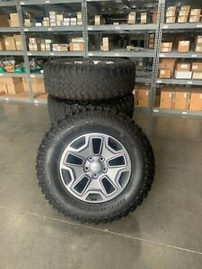 Jeep Rubicon Wheels 17 In Bfgoodrich Rims Tires Mud Terrain 1 Set Of 5 Each