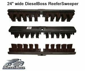 Refrigerated Trailer Broom For Truckers Reefer Sweeper Made In Usa