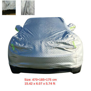 Aluminum Full Auto Car Cover Sun Snow Protection Suv L Fit For Toyota Audi Honda