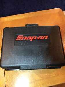 Snap on Cordless Impact Drill Case Only Pb165 Blow Mold