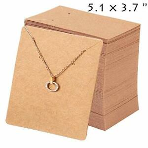Necklace And Earrings Display Cards Earring Card Holder Necklace Tags Displayin