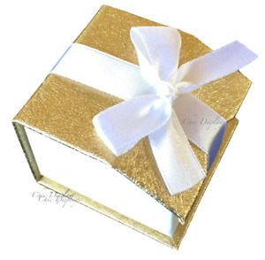 36 Ring Gift Boxes For Ring Gold Boxes Showcase Ring Boxes Magnetic Ribbon Boxes