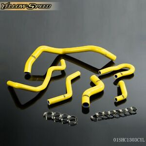For Honda Civic 1992 2000 Ek Eg Ex Sohc D15 D16 6pcs Silicone Radiator Hose Tube