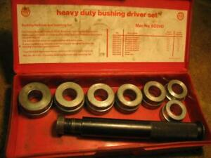 Mac Tools Bd3143 Heavy Duty Bushing Driver Set