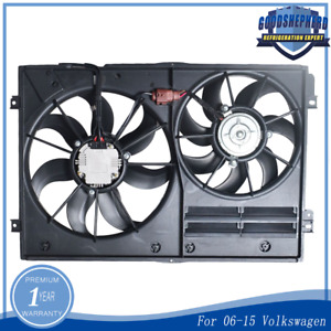 Radiator Cooling Fan For 2005 2015 Volkswagen Jetta 1 4 1 8 1 9 2 0 2 5l
