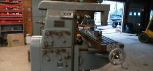Greaves Cincinnati Horizontal Milling Machine W Lots And Lots Of Tooling