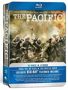 The Pacific HBO Series Blu Ray Steelcase New and Sealed $25.80