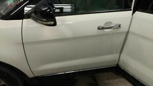 2011 2014 Ford Explorer Driver Front Door Limited White 2281940