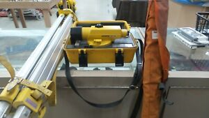 Topcon At f2 Automatic Level With Tripod And Leveling Rod