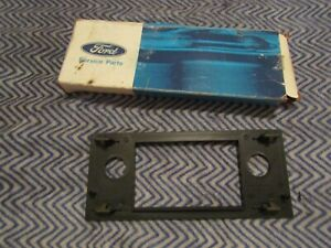 New 1983 1984 Ford Escort And Exp Radio Face Plate Trim Bezel New Old Stock