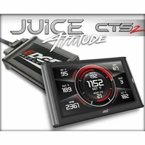 Edge Products 21501 Juice Tuner With Attitude Cts2 For Duramax 6 6l Lly New