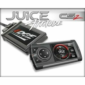 Edge Products 21400 Juice Tuner With Attitude Cs2 For 01 04 Duramax 6 6l Lb7 New