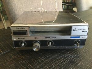 Vintage Automatic Radio 8 Eight Track Under Dash Tape Player Cfe 6745a Chrome