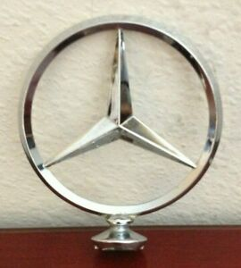 Vintage Mercedes Benz Chrome Hood Emblem