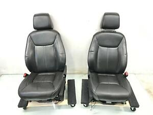 2013 2014 Chrysler 300 C Front Complete Seat Set john Varvatos Edition W bag