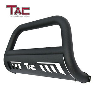 For 2007 2021 Toyota Tundra 3 Texture Black Bull Bar Front Bumper Grille Guard