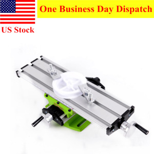 Multifunction Table Compound Worktable Milling Machine Drill Slide Bench