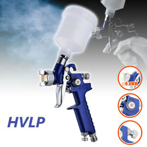 Hvlp Air Paint Spray Gun Auto Car Detail Touch Up Air Brush Gravity Repair Tool