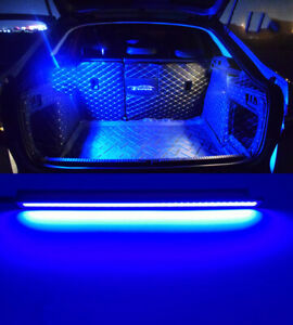 Blue 18 Smd Led Strip Light Car Trunk Cargo Fit Honda Civic Accord