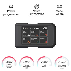 Volvo Xc70 Xc90 Chip Tuning Box Power Programmer Performance Tuner Obd2