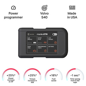 Volvo S40 Chip Tuning Box Power Programmer Performance Tuner Obd2
