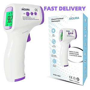 Quality Infrared Non contact Digital Lcd Display Forehead Adult Baby Thermometer