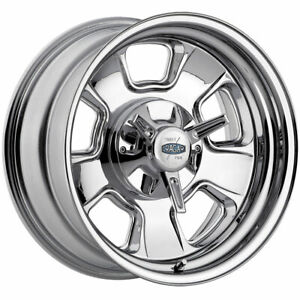 17x9 Cragar 390c Street Pro 5x114 3 5x120 7 Chrome Plated Wheel Rim qty 1