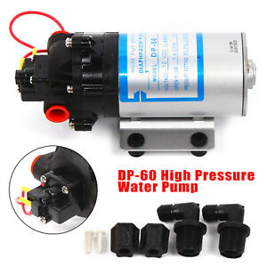 Micro High Pressure Diaphragm Pump Self priming Automatic Switch Control 0 42mpa