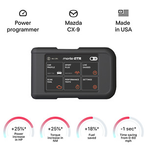 Mazda Cx 9 Smart Engine Chip Tuning Power Programmer Performance Tuner Obd2