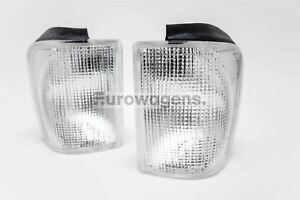 Vw Scirocco Mk2 82 92 Clear Front Indicators Repeaters Set Pair Driver Passenger