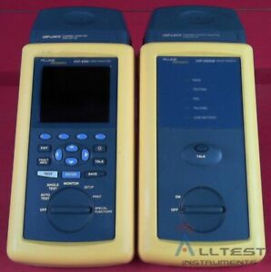 Fluke Dsp4300 Network Cable Cat 5 And 6 Tester