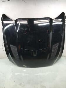 2015 2017 Ford Mustang Front Hood W Roof Scoop And Aftermarket Scoop Agate