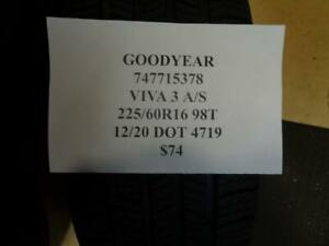 1 New Goodyear Viva 3 A s 225 60 16 98t Tire 747715378 Q0