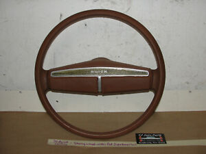 Oem 75 Buick Century Steering Wheel With Horn Pad tested
