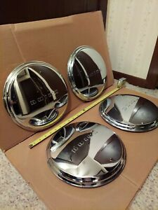 1941 48 Buick Dog Dish 11 Od Hubcaps Wheel Covers Set X4 Oem Deluxe Special