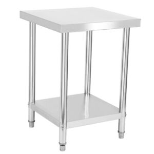 Stainless Steel 24 X 30 Restaurant Commercial Kitchen Prep Work Table House