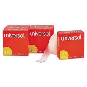 12 Pack Universal Invisible Tape 3 4 X 1000 1 Core Clear Transparent Lot Magic