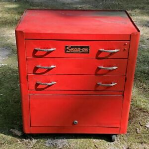 Vintage Snap On Tool Cabinet Rare